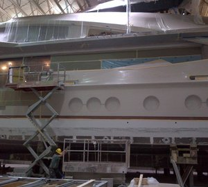 Images of LADY M yacht (Project Stimulus, PJ264) featuring DuraShield SuperYacht glazing