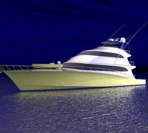 Sportfish motor yacht MARLENA launched by Jim Smith