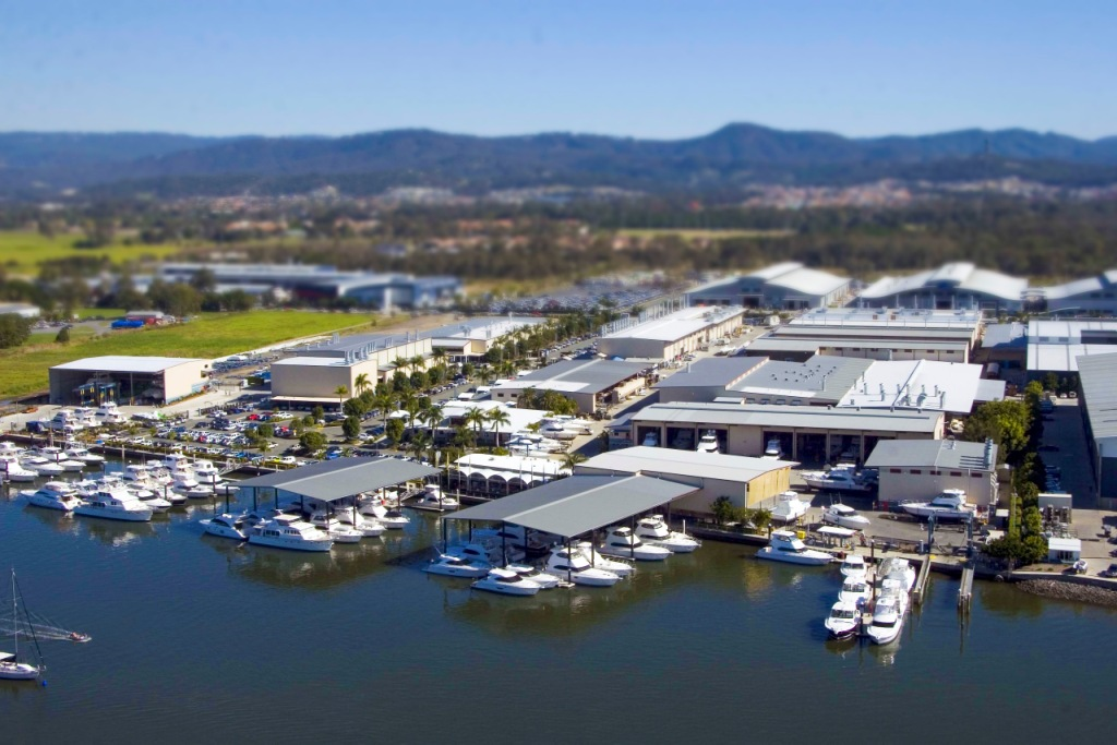 Riviera's 14-hectare state-of-the-art Coomera headquarters is the largest boat building facility in the southern hemisphere