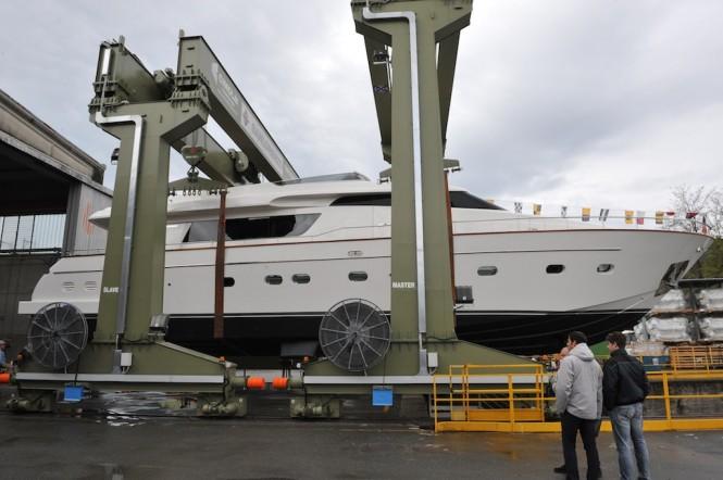 Sanlorenzo SL82 motor yacht PIOPPI