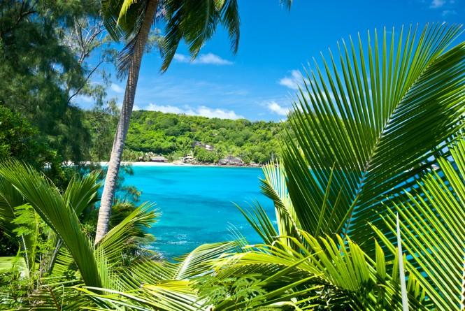Seychelles in the Indian Ocean