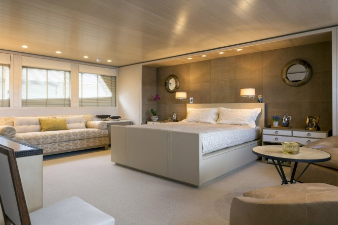 Superyacht A2 - owners cabin Photo credit to Paul Warchol