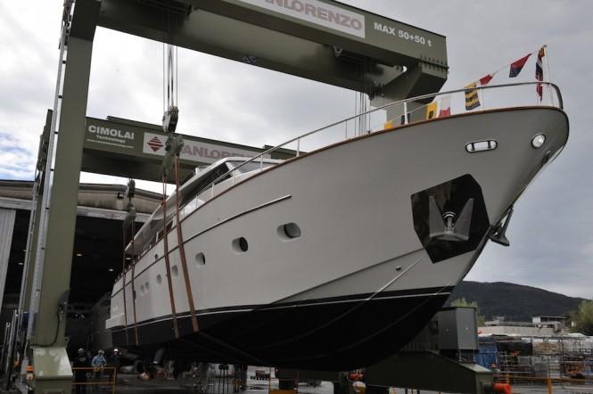 Superyacht Pioppi - a SL82 Sanlorenzo yacht
