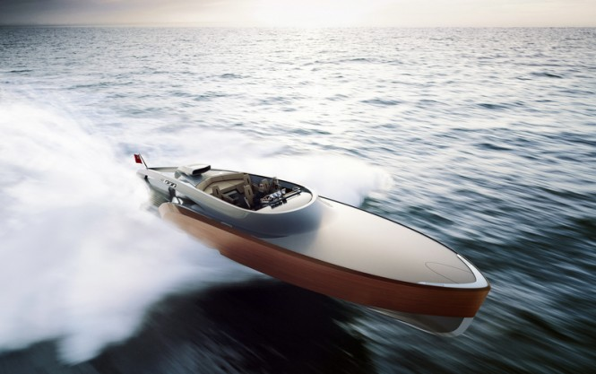 Aeroboat superyacht tender to be built by Green Marine