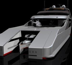 Latest 145m mega yacht 'X' concept by SABDES Design