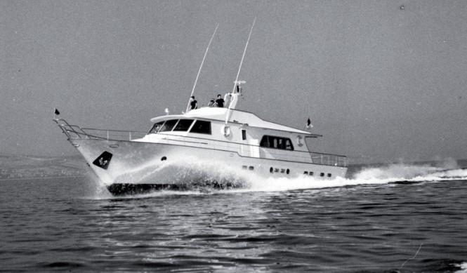 1970 23m motor yacht Super Conero