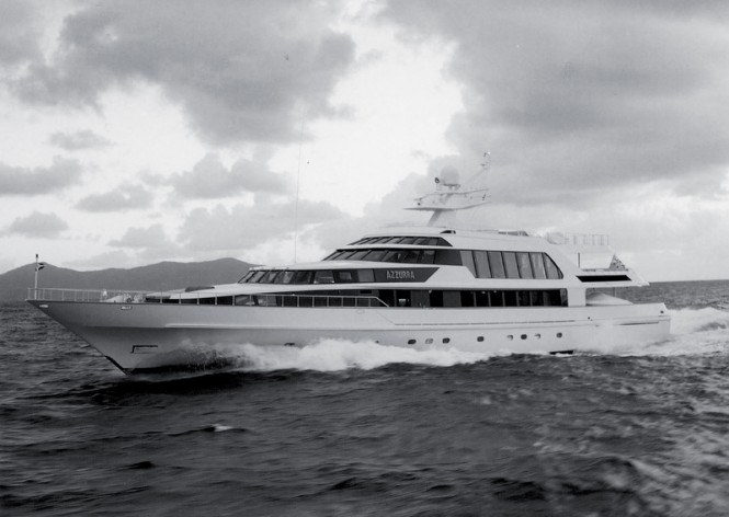 47,50m luxury yacht Azzurra from 1988