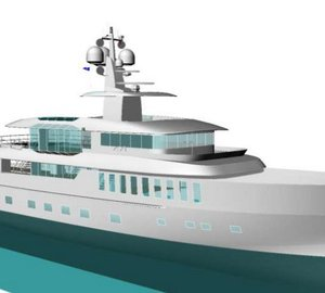 50m motor yacht Project BEACH concept by Cor D Rover and Danish Yachts