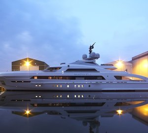 Heesen delivers 65m FDHF mega yacht GALACTICA STAR