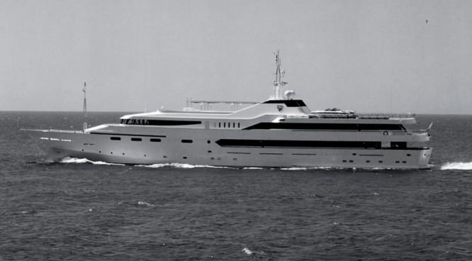 67,80m mega yacht Alwaeli (ex Awal II) from 1991