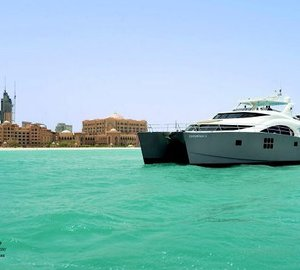 Sunreef Yachts announces presence of 70 Sunreef Power yacht DAMRAK II in the Middle East