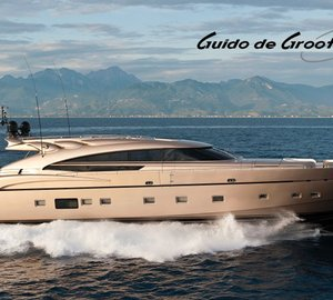 Guido de Groot wins ShowBoats Interior Design Award 2013 for AB116 Yacht DIAMOND