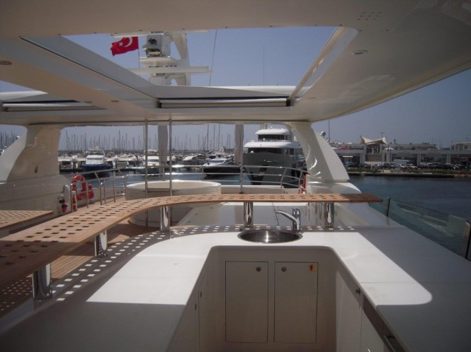 Aboard Phoenix Yacht
