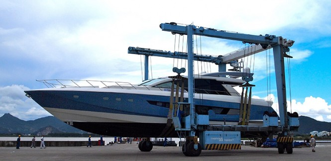 Alpha 87 Express Sport Yacht by Cheoy Lee - Image courtesy of Cheoy Lee