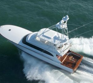 New 77' motor yacht BLANK CHECK delivered by Jarrett Bay