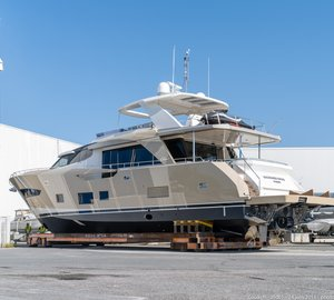 Couach 2600 FLY Yacht at launch