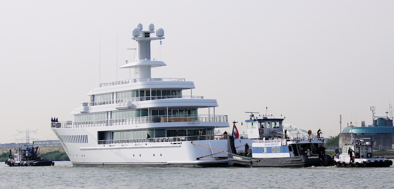 Feadship mega yacht MUSASHI - Photo by Kees Torn