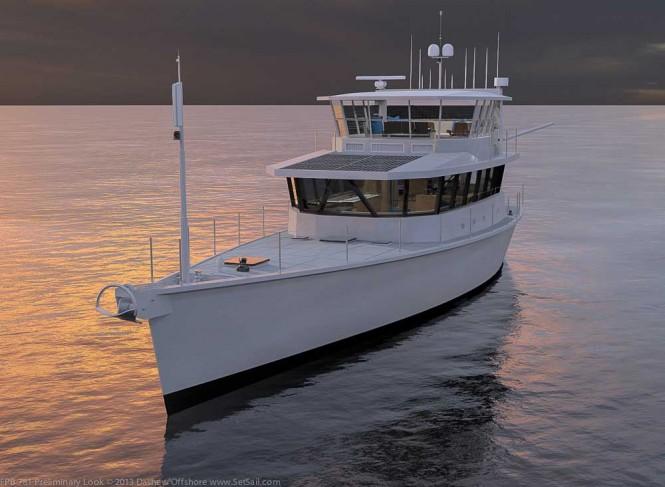 First Dashew FPB 78 Yacht