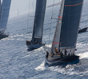 Loro Piana Superyacht Regatta 2013: My Song, Salperton and Bequia Yachts lead after Day 3