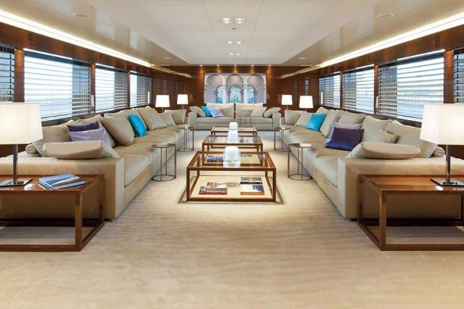 Hanseatic mega yacht Smeralda - Interior