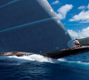 J Class Yacht HANUMAN with Rondal Rig wins 7 out of 8 races