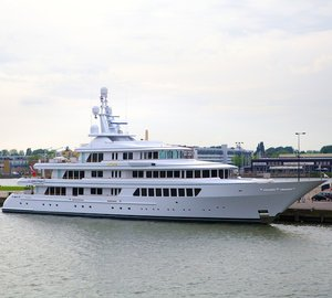 Feadship Mega Yacht UTOPIA relaunched after refit