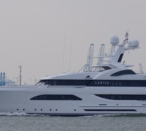 Images of 57m LARISA superyacht by Feadship