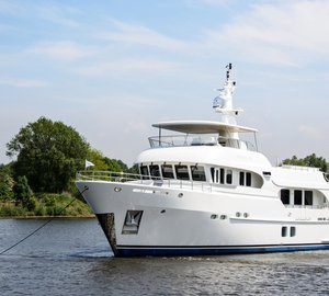 Moonen 100 Explorer Yacht Hull YN 195 by Moonen Shipyards