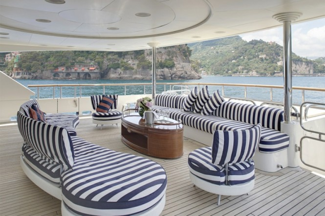Motor Yacht JO - Main deck aft