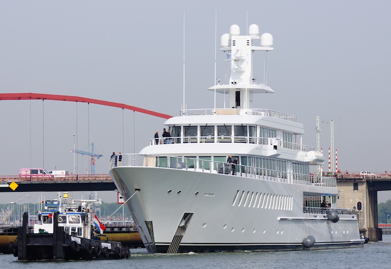 Musashi yacht by Feadship - Photo by Kees Torn