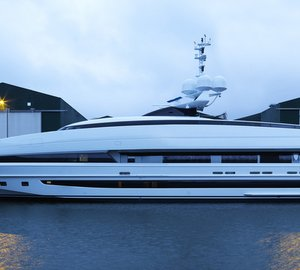 All-new 50m motor yacht CRAZY ME (YN 16250) launched by Heesen Yachts