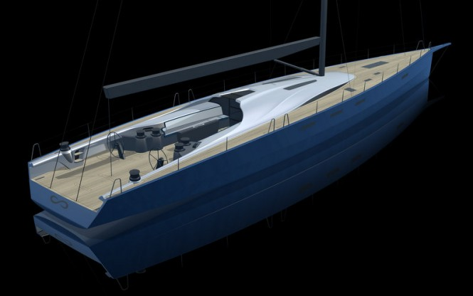 New Danish Yachts superyacht Infiniti 100S with interior design by Design Unlimited
