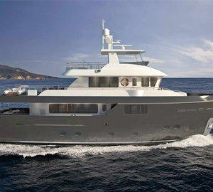 Cantiere delle Marche announces sale of new Explorer Yacht DARWIN CLASS 86'