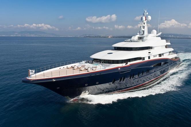 Oceanco mega yacht NIRVANA