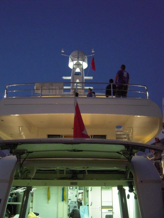 Phoenix Yacht by night