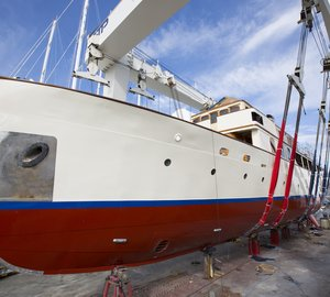 Refit of Classic Motor Yacht FAIR LADY successfully completed by Pendennis Palma