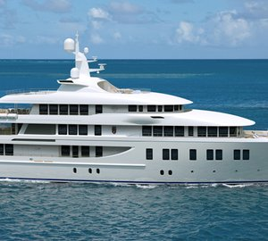 New 66m motor yacht INVICTUS (Project INVADER, hull 211042) launched by Delta Marine