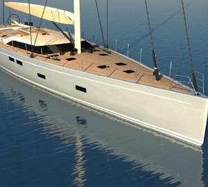New Southern Wind SW 102 sailing yacht FARFALLA (hull #3) with launch in early summer 2014