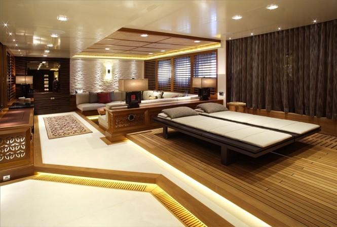 Spa on Vicky Yacht