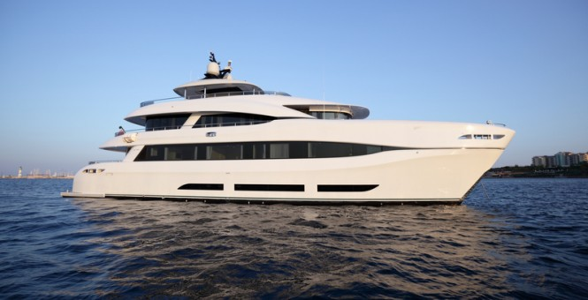 34m superyacht Quaranta by Curvelle and Logos Marine
