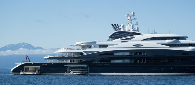 134m Fincantieri yacht SERENE - Photo by Viktor Davare - Vancouver Island Photography