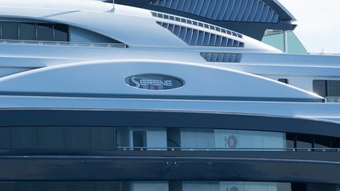 2011 launched luxury mega yacht SERENE - Photo by Viktor Davare - Vancouver Island Photography