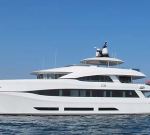 Delivery of 34m Curvelle Yacht QUARANTA