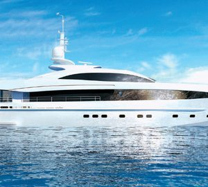 All-new 40m motor yacht Project GALATEA (hull 15640) by Heesen