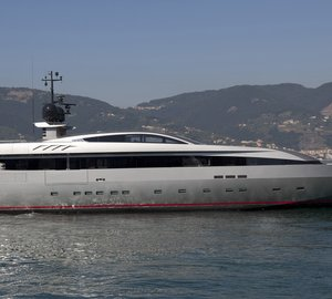 Recently launched 44m Baglietto luxury yacht MONOKINI