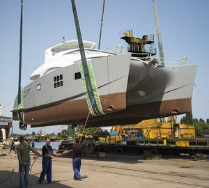 Fourth 60 Sunreef Power Yacht MEOW launched by Sunreef Yachts