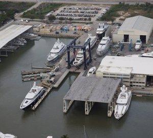 Derecktor completes five year survey on classic 164' Feadship Yacht Aurora B