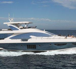 New Azimut 80 Yacht to make worldwide premiere at Festival de la Plaisance in Cannes