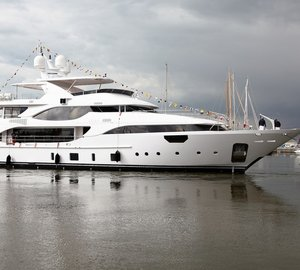 Benetti delivers Crystal 140 motor yacht LUNA
