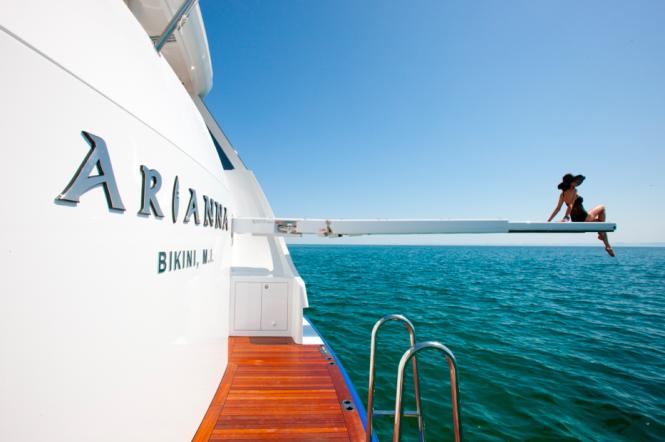 Charter yacht Arianna